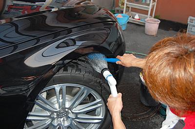 03:タイヤ・ハウス洗浄